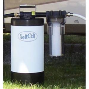 "SOFTCELL STANDARD ""ATTACHED"" PORTABLE WATER SOFTENER"